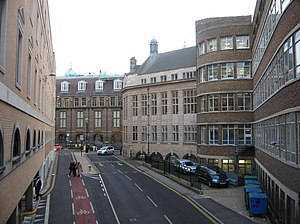 Corn Exchange Street - Corn Exchange Street, looking toward the Cambridge Medical School building