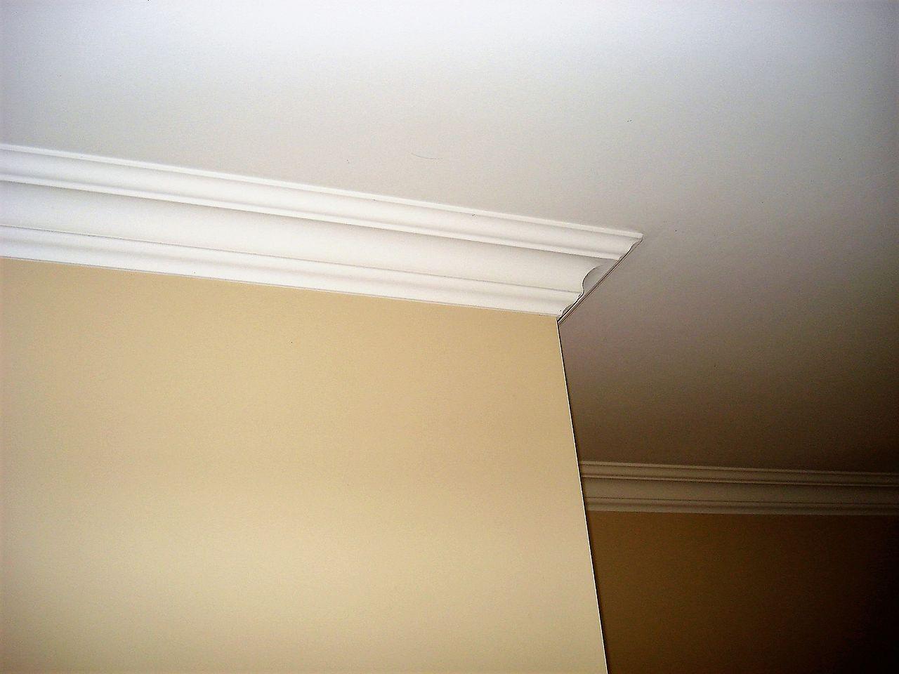 file corniche entre plafond et wikimedia commons. Black Bedroom Furniture Sets. Home Design Ideas