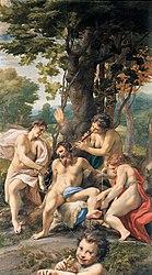 Antonio da Correggio: Allegory of Vices