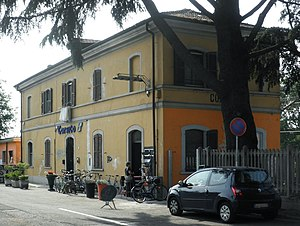 Corsico - Old railway station in Corsico