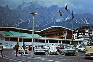 Stadio Olimpico Del Ghiaccio - Olympic Ice Stadium in Summer 1971