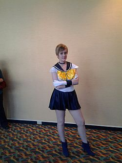 Cosplay de Sailor Uranus