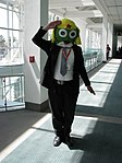 Cosplayer of Keroro, Sgt. Frog at Anime Expo 20090703.jpg