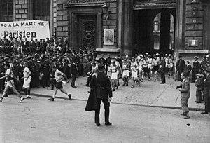 Paris-Colmar - Start in 1932