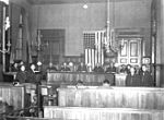Courts Martial Board at Rear Headquarters, XIX Tactical Air Command, Chalons, France.JPG