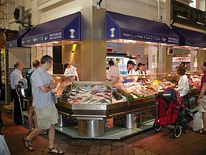 Covered Market, Oxford - Image: Covered Market Fish