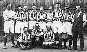KS Cracovia (football) - Team of Cracovia in 1921