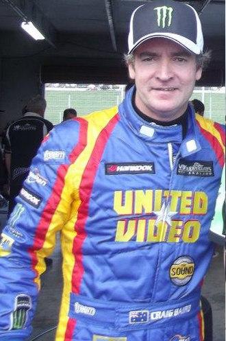 Craig Baird - Craig Baird at Hampton Downs in 2012