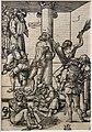 Cranach il vecchio, flagellazione, 1509, xilografia (coll. gollini).jpg