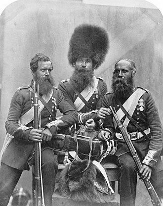 Coldstream Guards - Crimean War – soldiers of the Coldstream Guards