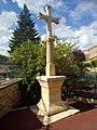 Croix de l'ancien cimetière de Coublanc, Saône-et-Loire (août 2020).jpg