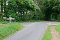 Crossroads on top of a hill, Meonstoke - geograph.org.uk - 426896.jpg
