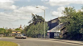 Watford and Rickmansworth Railway - Croxley Green terminus, photographed in 1984