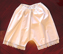 190f75ff08 Braga antigua tipo culote en algodón.