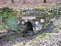 Culverted Burn at Hirst - geograph.org.uk - 1765934.jpg