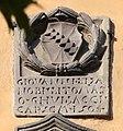 Cutigliano, palazzo dei capitani della montagna, stemmi 09 guidacci 1504.jpg