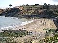 Cwm-yr-Eglwys beach, Easter Sunday - geograph.org.uk - 1800567.jpg