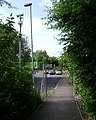 Cycleway and footpath to Warwick Parkway rail station - geograph.org.uk - 1401663.jpg