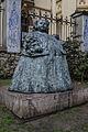 "Dña. Eugenia Martínez Vallejo ""La Monstrua"". Escultura, Avilés.JPG"