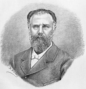 George D. Vernescu - Vernescu in an 1881 lithograph