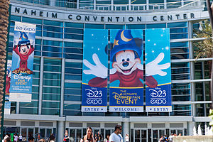 D23 (Disney) - Entrance to the D23 Expo 2013.