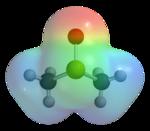 Structure 3D du diméthylsulfoxyde