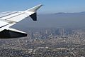 DOWN TOWN LOS ANGELES FLIGHT LAS-LAX A319 SPIRIT (10629754523).jpg