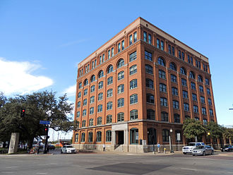 Texas School Book Depository - Dallas County Administration Building in 2015, formerly the Texas School Book Depository