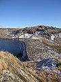 Dam, Llyn Pond Gwaith - geograph.org.uk - 1700934.jpg