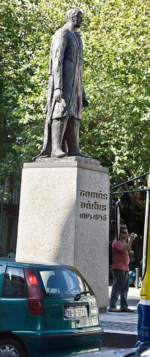 Thomas Davis (Young Irelander) - Dame Street - Thomas Davis