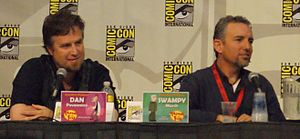 "Phineas and Ferb - Phineas and Ferb co-creators Dan Povenmire and Jeff ""Swampy"" Marsh in 2009."