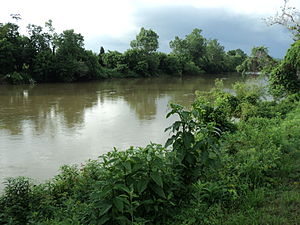 Dan River - View of the Dan River, Danville, Virginia