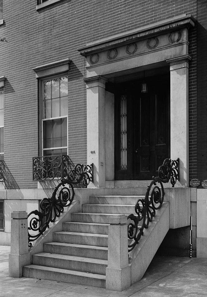 Daniel Coit Gilman House Baltimore Maryland 1936