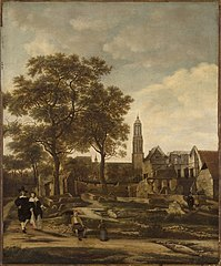 View of Delft after the Explosion of 1654