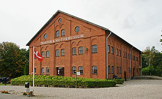 Danmarks Traktormuseum Tractor museum in Falster, Denmark