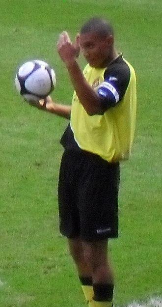 Darius Charles - Charles playing for Ebbsfleet United in 2009