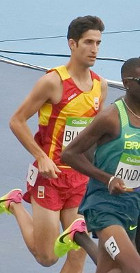 Давид Бустос на Олимпийских играх 2016 года