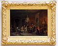 David Joseph Bles (1821-1899), Een muziekpartij, Olieverf op paneel.JPG