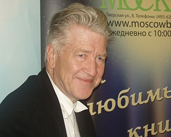 David Lynch on presentation of his book in Moscow