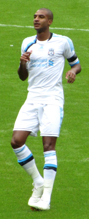 David N'Gog - N'Gog playing for Liverpool in 2011