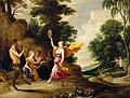 David Teniers (I) - Pan speelt fluit voor nimfen en saters - GG 736 - Kunsthistorisches Museum.jpg