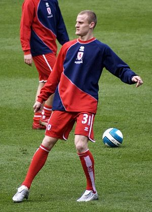 David Wheater - Wheater in Middlesbrough colours