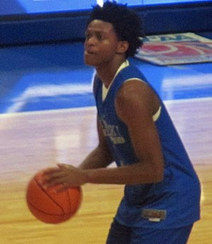 De'Aaron Fox - Fox in Kentucky's 2016 Blue-White scrimmage