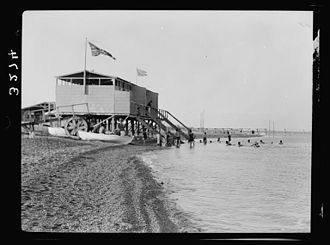 Kalya - Kalya beach, 1920