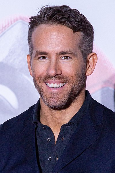 Ryan Reynolds, Canadian-American actor, comedian, film producer, and screenwriter