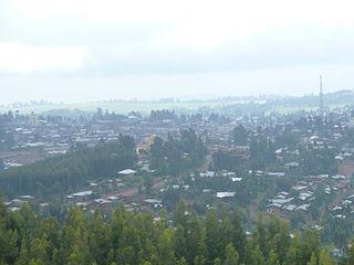 Debre Tabor Place in Amhara Region, Ethiopia