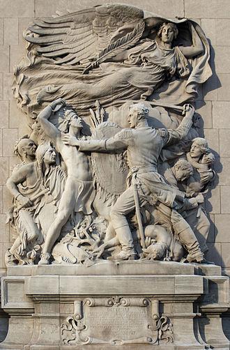 Battle of Fort Dearborn - Image: Defense Henry Hering