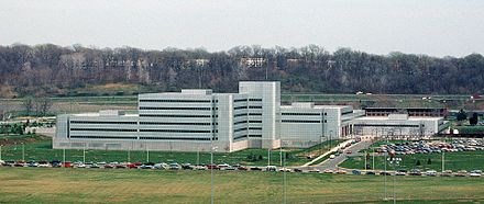 In the 1980s, DIA moved into the newly built Defense Intelligence Agency Headquarters (seen here in 1988), which now represents only one wing of the sprawling complex. Defense Intelligence Agency headquarters.JPEG