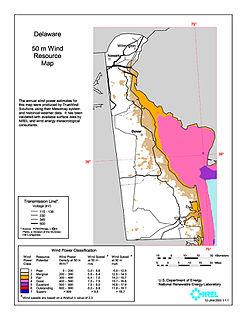 Wind power in Delaware