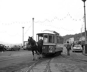 G.F. Milnes & Co. - Horse drawn tramcar built in Birkenhead in  1892 on the Isle of Man tramway